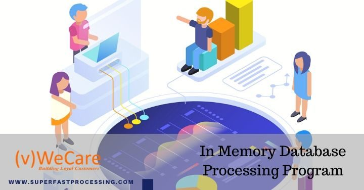 in memory database processing program