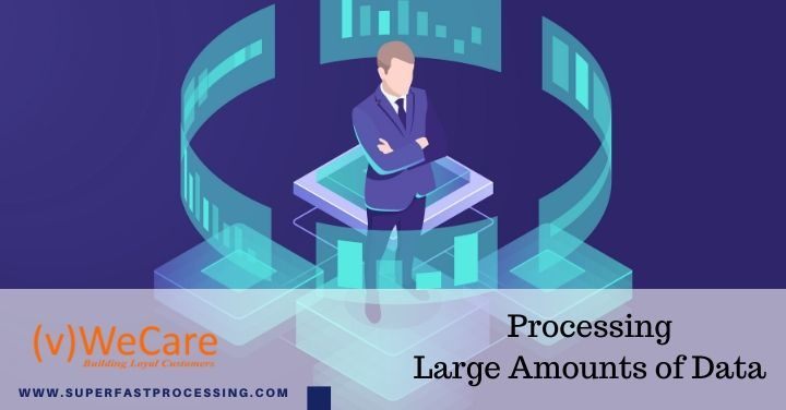 Processing large amounts of data
